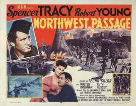 Northwest Passage - 22 x 28 Movie Poster - Half Sheet Style A