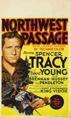 Northwest Passage - 11 x 17 Movie Poster - Style A