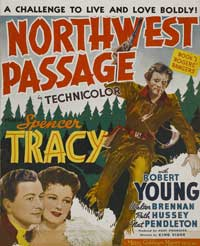 Northwest Passage - 11 x 17 Movie Poster - Style D