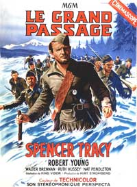 Northwest Passage - 11 x 17 Movie Poster - French Style A