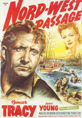 Northwest Passage - 11 x 17 Movie Poster - German Style A