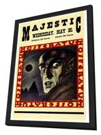 Nosferatu, a Symphony of Horror - 27 x 40 Movie Poster - Style A - in Deluxe Wood Frame