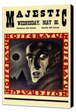 Nosferatu, a Symphony of Horror - 11 x 17 Movie Poster - Style A - Museum Wrapped Canvas