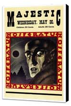 Nosferatu, a Symphony of Horror - 27 x 40 Movie Poster - Style A - Museum Wrapped Canvas