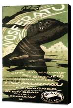 Nosferatu, a Symphony of Horror - 14 x 36 Movie Poster - German Style A - Museum Wrapped Canvas