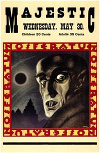 Nosferatu, a Symphony of Horror - 43 x 62 Movie Poster - Bus Shelter Style A