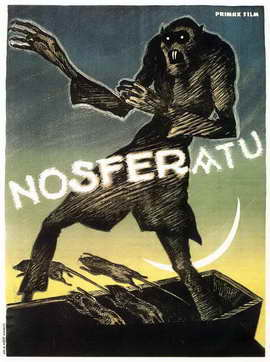 Nosferatu, a Symphony of Horror - 11 x 17 Movie Poster - Style B