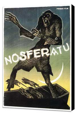 Nosferatu, a Symphony of Horror - 11 x 17 Movie Poster - Style B - Museum Wrapped Canvas