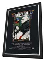 Nosferatu the Vampyre - 27 x 40 Movie Poster - Style B - in Deluxe Wood Frame