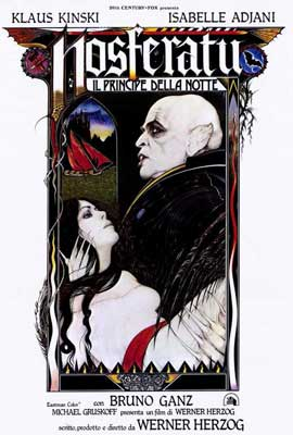 Nosferatu the Vampyre - 27 x 40 Movie Poster - Italian Style A