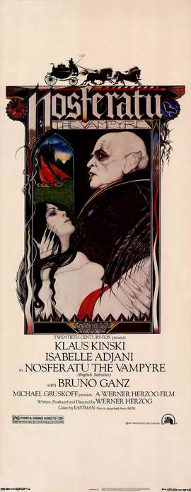 Nosferatu the Vampyre - 14 x 36 Movie Poster - Insert Style A