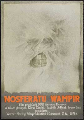 Nosferatu the Vampyre - 27 x 40 Movie Poster - Polish Style A