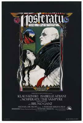 Nosferatu the Vampyre - 27 x 40 Movie Poster - Style B