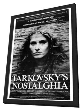 Nostalghia - 27 x 40 Movie Poster - Style A - in Deluxe Wood Frame