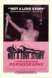 Not A Love Story - 27 x 40 Movie Poster - Style A