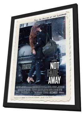 Not Fade Away - 27 x 40 Movie Poster - Style A - in Deluxe Wood Frame