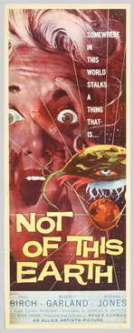 Not of this Earth - 14 x 36 Movie Poster - Insert Style A