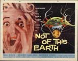 Not of this Earth - 22 x 28 Movie Poster - Half Sheet Style A