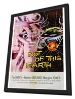 Not of this Earth - 27 x 40 Movie Poster - Style A - in Deluxe Wood Frame