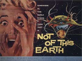 Not of this Earth - 11 x 17 Movie Poster - Style B