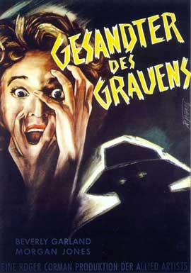 Not of this Earth - 11 x 17 Movie Poster - German Style A