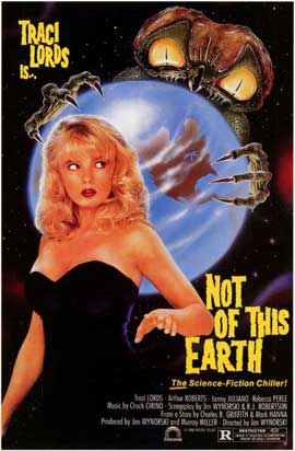 Not of This Earth - 11 x 17 Movie Poster - Style A