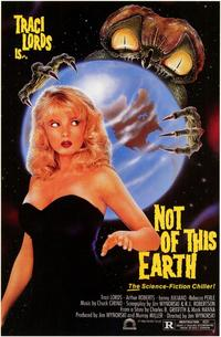 Not of This Earth - 43 x 62 Movie Poster - Bus Shelter Style A