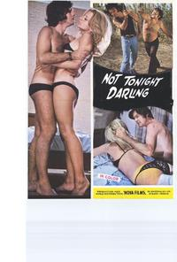 Not Tonight Darling - 27 x 40 Movie Poster - Style A