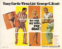 Not With My Wife You Dont - 11 x 14 Movie Poster - Style A