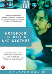 Notebook on Cities and Clothes - 11 x 17 Movie Poster - Danish Style A