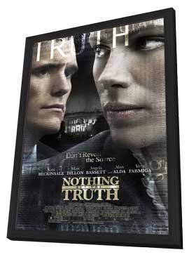 Nothing but the Truth - 11 x 17 Movie Poster - Style A - in Deluxe Wood Frame