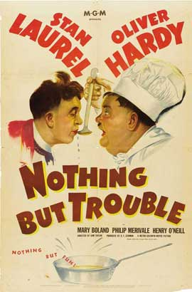 Nothing But Trouble - 27 x 40 Movie Poster - Style C