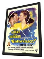 Notorious - 11 x 17 Movie Poster - Style A - in Deluxe Wood Frame