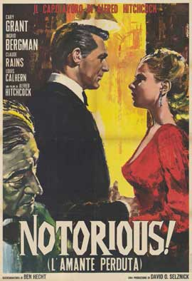 Notorious - 11 x 17 Movie Poster - Italian Style B