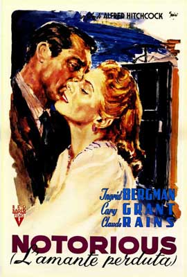Notorious - 27 x 40 Movie Poster - Italian Style A