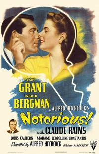 Notorious - 43 x 62 Movie Poster - Bus Shelter Style A