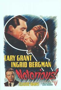 Notorious - 14 x 22 Movie Poster - Belgian Style A