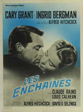 Notorious - 11 x 17 Movie Poster - French Style J