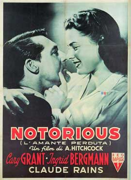 Notorious - 11 x 17 Movie Poster - Italian Style K