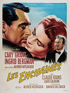 Notorious - 11 x 17 Movie Poster - French Style C