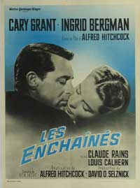 Notorious - 11 x 17 Movie Poster - French Style D