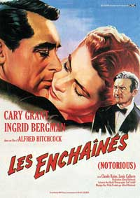 Notorious - 11 x 17 Movie Poster - French Style E