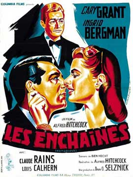 Notorious - 11 x 17 Movie Poster - French Style F