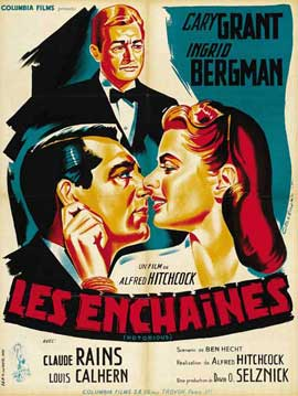 Notorious - 27 x 40 Movie Poster - French Style C
