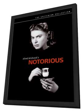 Notorious - 27 x 40 Movie Poster - Style H - in Deluxe Wood Frame