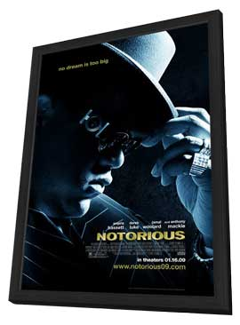 Notorious - 27 x 40 Movie Poster - Style A - in Deluxe Wood Frame