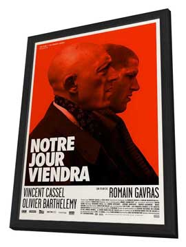 Notre jour viendra - 27 x 40 Movie Poster - French Style A - in Deluxe Wood Frame