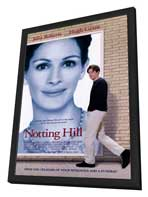 Notting Hill - 27 x 40 Movie Poster - Style A - in Deluxe Wood Frame