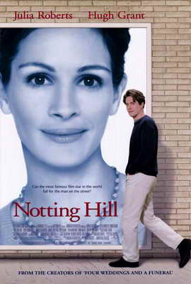 Notting Hill - 27 x 40 Movie Poster