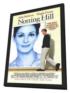 Notting Hill - 11 x 17 Movie Poster - Style B - in Deluxe Wood Frame